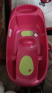 baby's green and pink plastic bather Redding, 96002