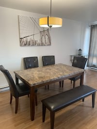 Classy dining table set