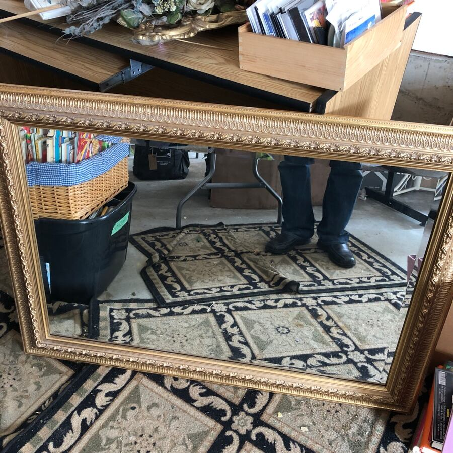 Framed mirror excellent condition