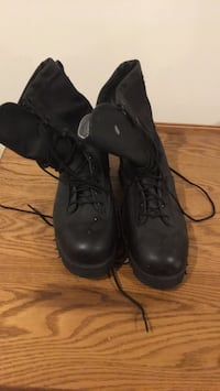 Canvas Upper Leather Lower Cold Weather Boots (URGENT)