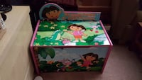 Wooden dora toybox good condition Kelowna, V1P 1K6