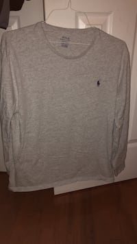 Long sleeve polo (gray) Clarksville, 21029
