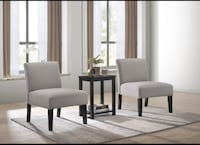 set of 2 accent chair with table Brampton, L6V 2P2