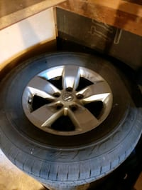 Ram 1500 stock tires and rims Whitby, L1N 3H1