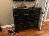 Chest of drawers bought in Franklin at Roosters for $600 . Movers knocked the corner but it can be painted over.  Nashville, 37076