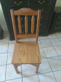 I have 4 wooden heavy chairs  20each McAllen, 78504