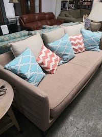 Gorgeous tan colored day sofa Cape Coral