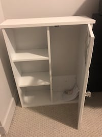 "Coddington with Single Door and Shelves 20"" W x 25"" H Wall Mounted Cabinet. Brand new. Bought it, assembled it, and decided it didn't go with my bathroom Toronto, M6K 3R7"