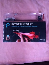 PowerUp Dart! Smartphone Controlled Paper Airplane