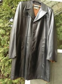 Italian Leather (Calf skin) Dress Coat