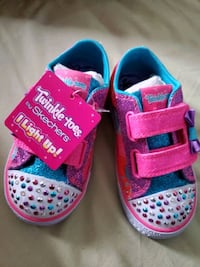 Twinkle Toes by Skechers Brand New