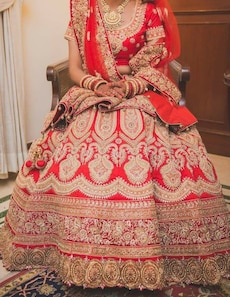 women's orange and white floral traditional dress outfit