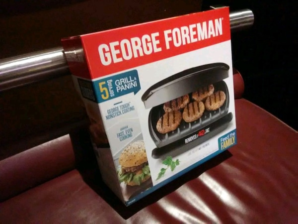 George Foreman griller 1550bf84-8a87-449f-8995-22c3903a6e07