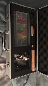 Reel and rod combo brand new come with tackle and line