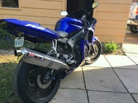 blue and black sports bike Whitby, L1P 1R8