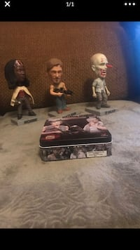 Walking dead bobble heads and playing cards Chesapeake, 23325