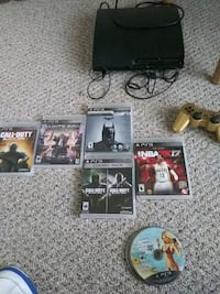 Ps3 lots of games one controller Detroit, 48228