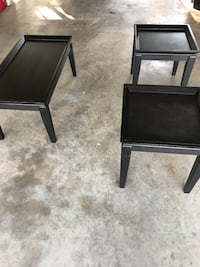 Black living room tables  Gainesville, 32608