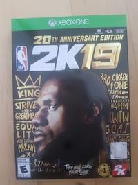NBA 2K19 Lebron Legend Edition for XBOX ONE