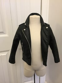 CHILD FAUX LEATHER JACKET