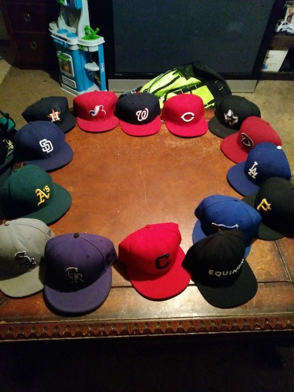 6bb549565f04a Used Official MLB fitted hats for sale in Seagoville - letgo