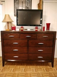 Nice solid wood modern big dresser/TV stand/ buffe Annandale, 22003