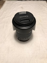 Mint Canon 18-135mm IS Len's and Lens Hood! Barrie