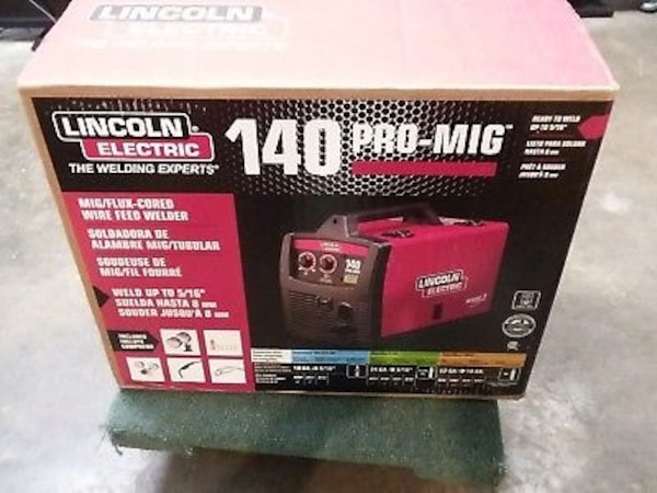LINCOLN ELECTRIC 140 PRO MIG WELDER (BRAND NEW)