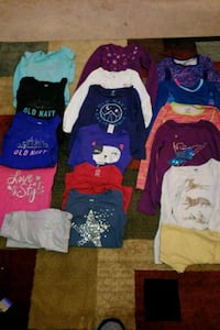 Girls Long sleeve shirts 6-6X some 5 Stockbridge, 30281