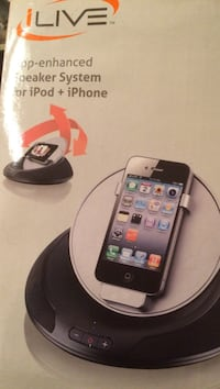 Live App- Enhanced Speaker System BN for IPod & IPhone Edmonton, T5Y