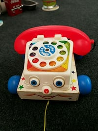 Fisher Price 1961 vintage Chatter Telephone Fairfield, 45014