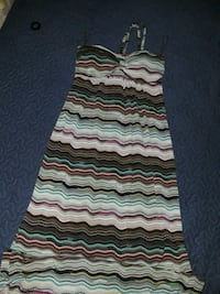 green, white, and black sleeveless dress Silver Spring, 20902