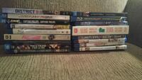 four assorted DVD movie cases Waterloo, N2L 5X2