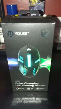 black Logitech gaming mouse box Silver Spring, 20906