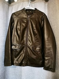 Cleo Black Leather jacket Victoria, V8R 4K4