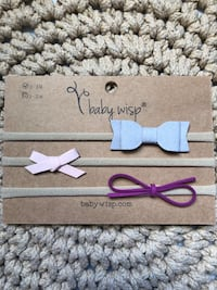 Faux Suede Bow Headbands
