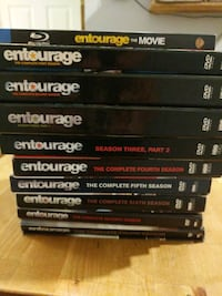 Entourage complete series plus Movie DVDS Blu ray Blaine, 55434