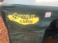 """Otter Cabin II Ice fishing shack and Jiffy 8"""" Ice Auger Reeseville, 53579"""