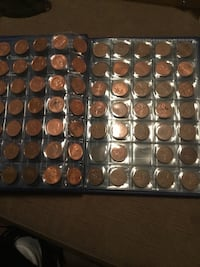 Penny collection 1928 to 2012