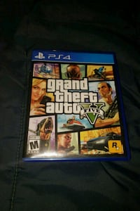 Sony PS4 Grand Theft Auto Five case Augusta, 30906