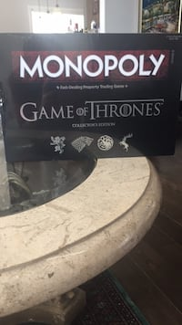 Game of thrones monopoly collectors edition  Hamilton, L9H 6Z9
