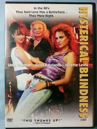 Hysterical Blindness dvd