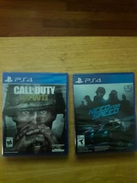 two Sony PS4 game cases Middletown, 10940
