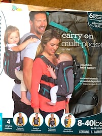 Gently used baby carrier