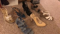 Shoes various brands sizes 8 and 8.5 Syracuse, 13204