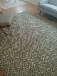Gorgeous 7'x9' Jute Rug with Woven Pattern Lady Lake, 32159