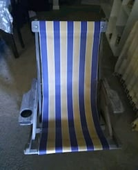 2 LSU outdoor lounge chairs great for mardigras.  River Ridge, 70123