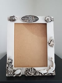 Mexican clay picture frame