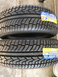 Pair of NEW 235 60 18 accelera tires  Encinitas, 92007