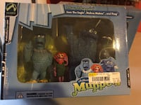 Muppet Miniatures  $35 for both unopened HERNDON